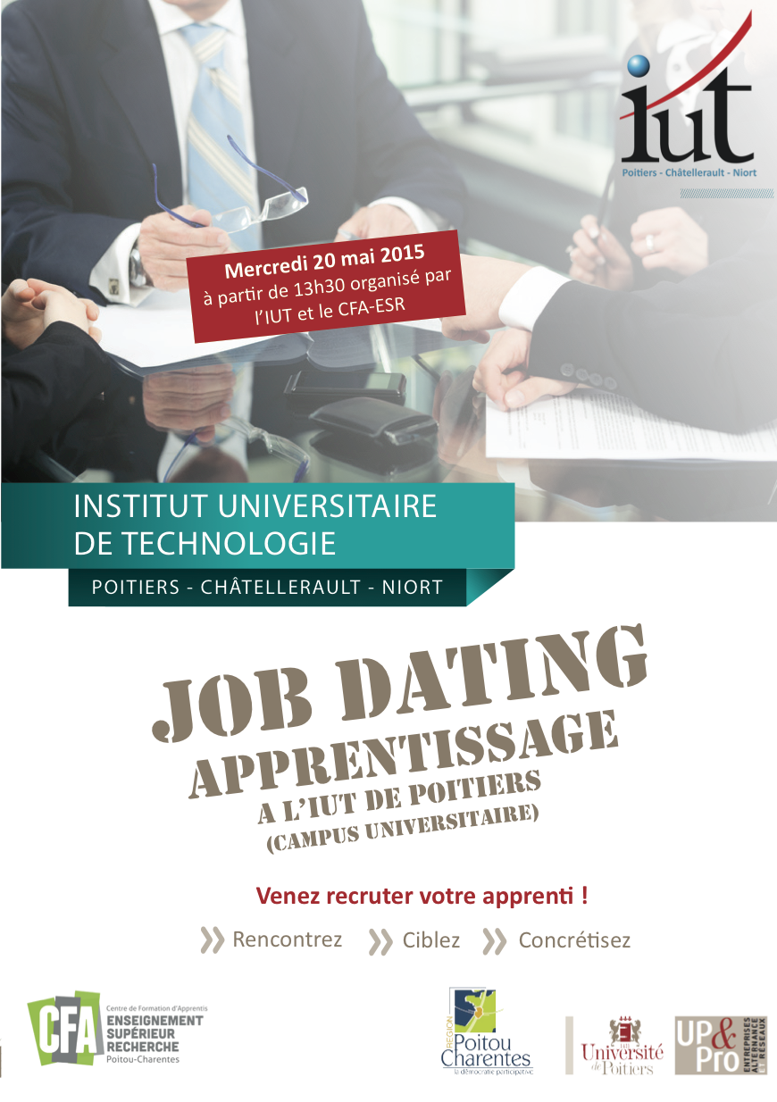 job dating apprentissage toulouse Page personnel organise son 1er job dating spécial aéronautique, le mercredi 17 avril 2013 à toulouse.